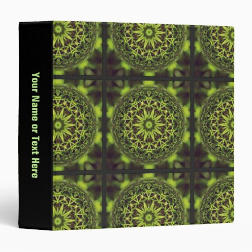 Arte de mármol verde del fractal
