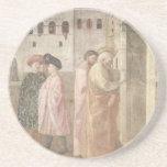 Arte de Masaccio Posavasos Cerveza