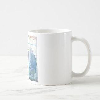 Arte de mil tan aborrecible como un sapo taza de café