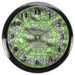 Arte de moda verde reloj acuario