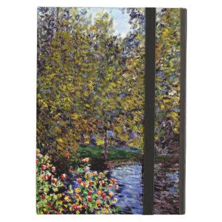 Arte de Monet: Una esquina del jardín en Montgeron