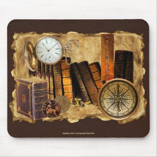 Arte de Mousepad del collage del Victorian de Stea