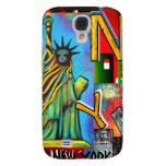 Arte de New York City Funda Para Galaxy S4