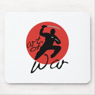 Arte de Ninja de la guerra Tapetes De Ratones