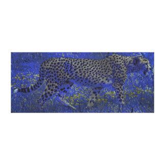 Arte de Noche-acecho salvaje de la fauna de la caz Impresion En Lona