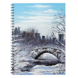 Arte de Nueva York, Central Park, paisaje Libretas