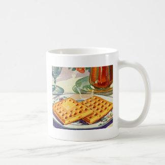 Arte de nuez retro de las galletas de la comida 40 tazas de café