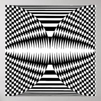Arte de Op. Sys., ilusión óptica 2 Impresiones