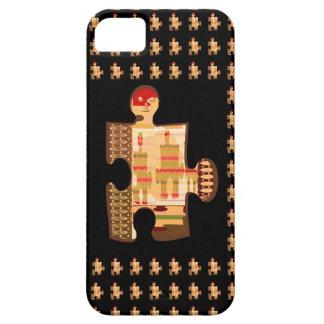 ARTE de oro brillante del CONCURSO de la chispa - Funda Para iPhone 5 Barely There