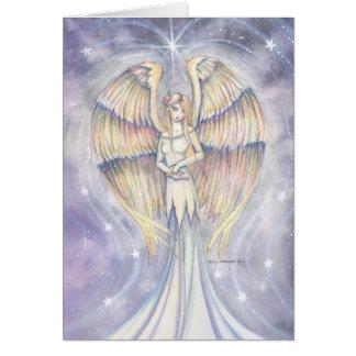 Arte de oro de la fantasía del ángel del ala