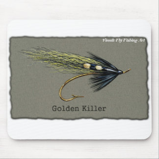 Arte de oro de Vinnik del © del cojín de ratón de  Mouse Pads