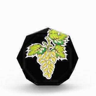 Arte de oro del vector de las uvas