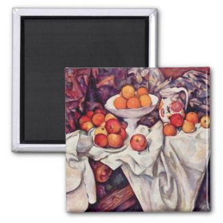 Arte de Paul Cezanne Imán Cuadrado
