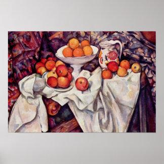 Arte de Paul Cezanne Póster