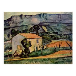 Arte de Paul Cezanne Tarjeta Postal