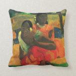 arte de Paul Gauguin Almohadas
