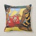 arte de Paul Gauguin Cojin