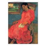 arte de Paul Gauguin Felicitación