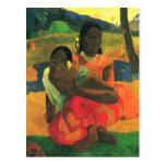 arte de Paul Gauguin Postal