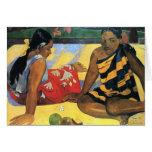 arte de Paul Gauguin Tarjeta