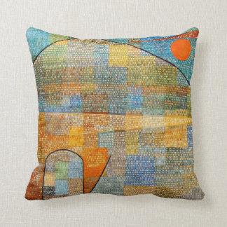 Arte de Paul Klee: Anuncio Parnassus Cojín