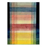 Arte de Paul Klee: Arquitectura del llano Tarjeta Postal