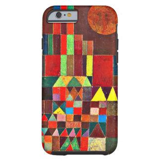 Arte de Paul Klee: Castillo y Sun, pintura de Klee Funda Para iPhone 6 Tough