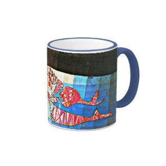Arte de Paul Klee: El navegante Tazas De Café