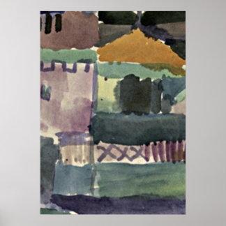 Arte de Paul Klee: En las casas de St Germain Impresiones