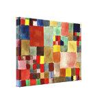 Arte de Paul Klee: Flora en la arena Impresion De Lienzo