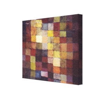 Arte de Paul Klee Lienzo Envuelto Para Galerias