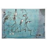 Arte de Paul Klee: Máquina de Twittering Manteles Individuales