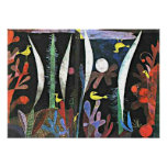 Arte de Paul Klee: Paisaje con los pájaros amarill