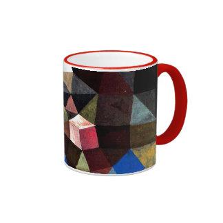 Arte de Paul Klee: Paisaje cristalino Taza A Dos Colores