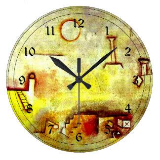 Arte de Paul Klee: Reconstrucción Reloj Redondo Grande