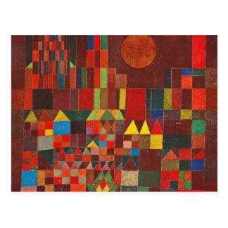 Arte de Paul Klee Postal