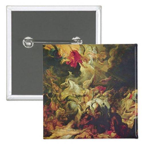 Arte de Peter Paul Rubens Pin Cuadrado