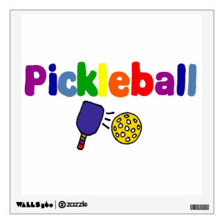 Arte de Pickleball Vinilo Adhesivo