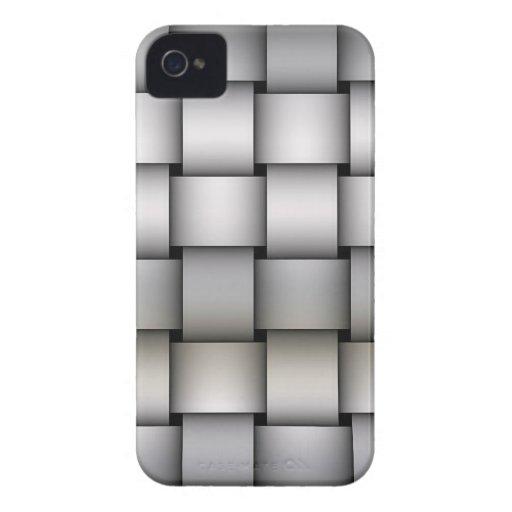 Arte de Plaided de la astilla iPhone 4 Case-Mate Carcasa
