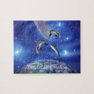 Arte de Pleiades de la creación Puzzle
