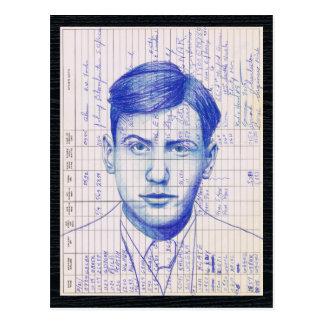 Arte de radio del diarios de operación del equipo tarjetas postales