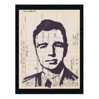 Arte de radio del expediente del equipo de tarjetas postales
