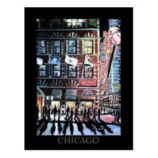 Arte de Randsom del arte de Harry Caray Chicago Postales