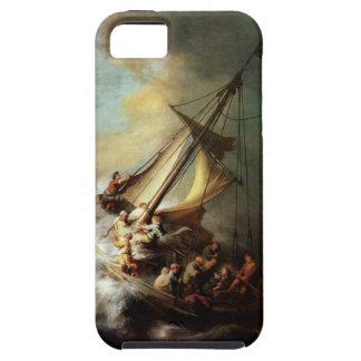 Arte de Rembrandt que pinta a Cristo en la iPhone 5 Funda