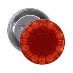 Arte de rubíes rojo metálico de la joya pins