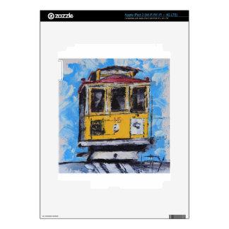 Arte de San Francisco, pintura del teleférico, Pegatinas Skins Para iPad 3