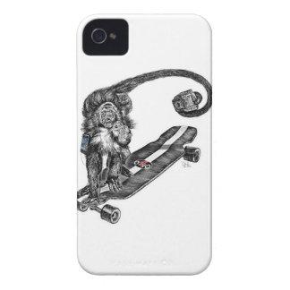Arte de Selfie del Simian Case-Mate iPhone 4 Fundas