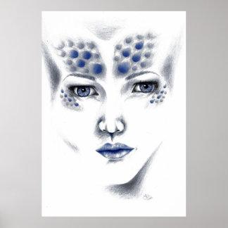 Arte de Srta. Universe Alluring Alien señora