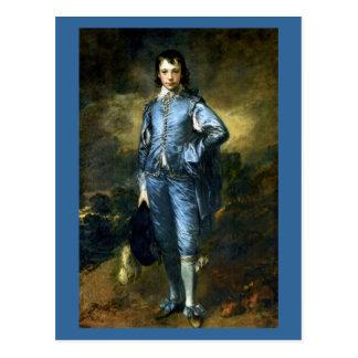 Arte de Thomas Gainsborough: El muchacho azul Tarjetas Postales