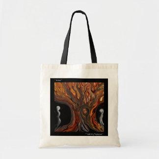 Arte de Totable por el ~ de hojas caducas del ~ de Bolsa De Mano